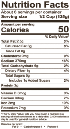 Datterini Nutrition