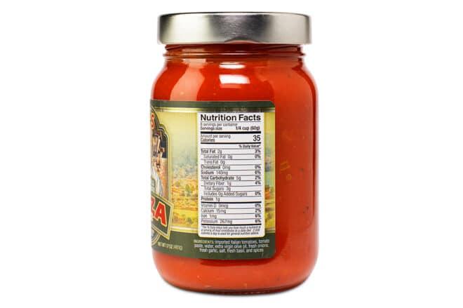 Fresh Basil Pizza Sauce